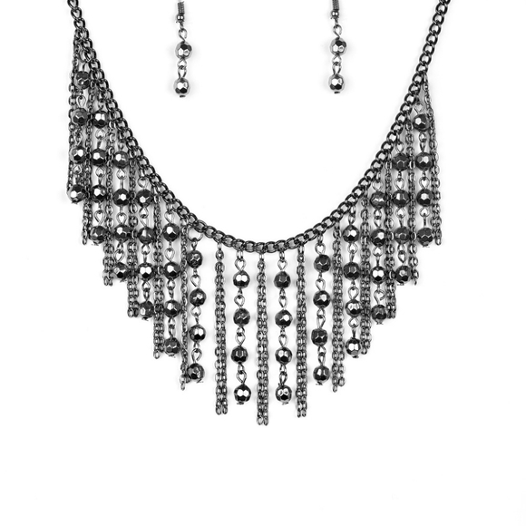 Beautiful necklace with earrings